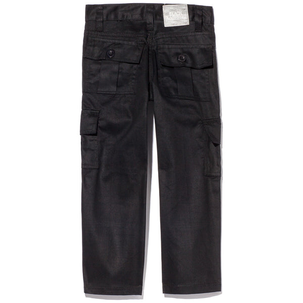 Too Cool For School Boys Black Moto Pants With Cargo Pockets - Citi Trends Boys - Back