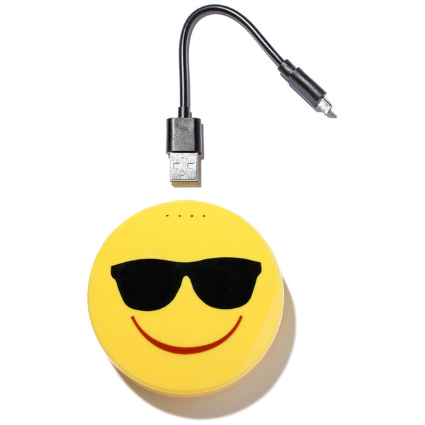 So Emojinal Sunglasses Face Portable Charger - Citi Trends Accessories - FRONT