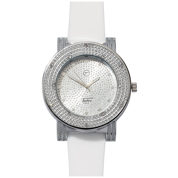 Fresh O'Clock Silver Mens Watch - Citi TrendsMens - 1