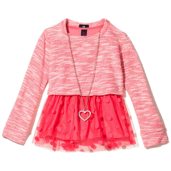 All The Frills Girls Necklace Top - Citi Trends Girls - Front