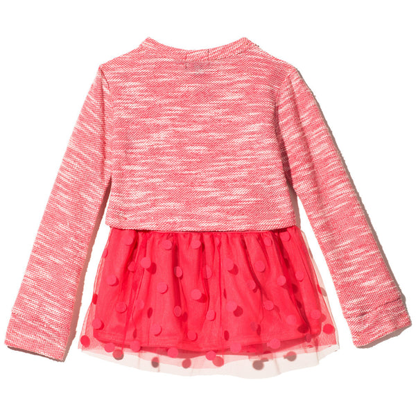 All The Frills Girls Necklace Top - Citi Trends Girls - Back