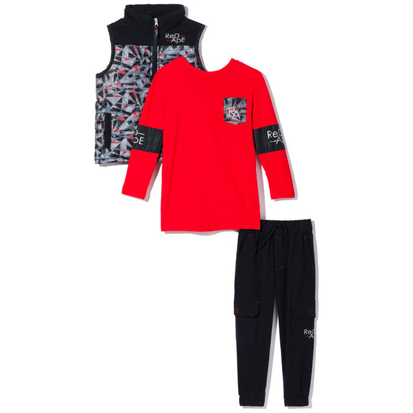 Abstract Opinion Boys 3-Piece Cargo Jogger Set - Citi Trends Boys - Front