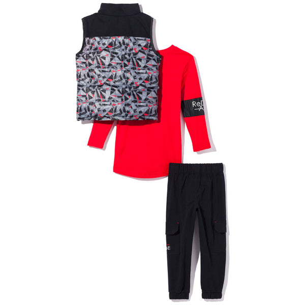 Abstract Opinion Boys 3-Piece Cargo Jogger Set - Citi Trends Boys - Back