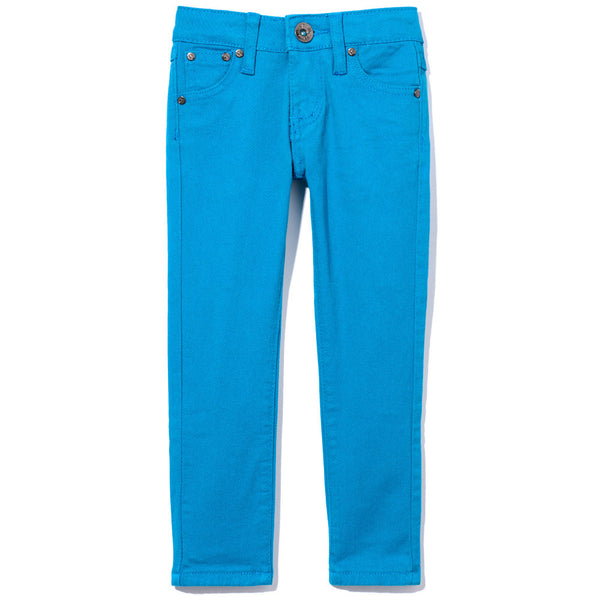 Bright And Just Right Girls Turquoise Skinny Jean - Citi Trends Girls - Front