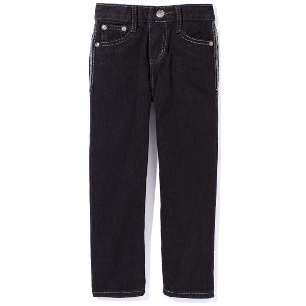 A Stitch In Time Boys Black Jean - Citi TrendsBoys - Front