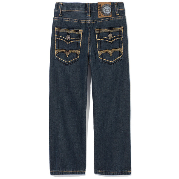 A Stitch In Time Boys Vintage Wash Jean - Citi TrendsBoys - Back