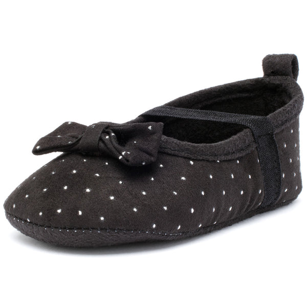 Dot In The Dark Black Studded Baby Girl Mary Jane - Citi TrendsBaby - 1