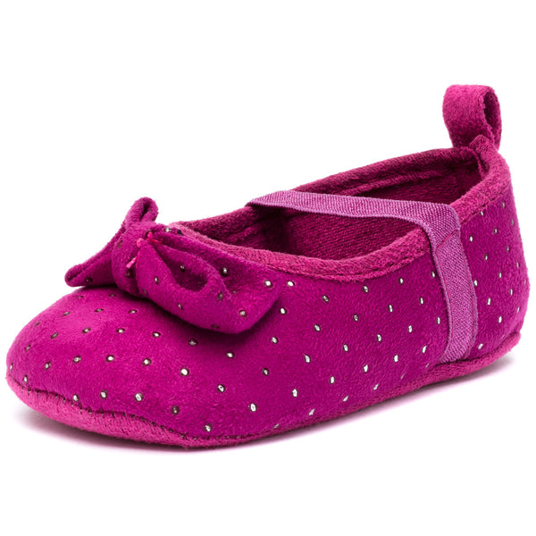 Dot In The Dark Purple Studded Baby Girl Mary Jane - Citi TrendsBaby - 1