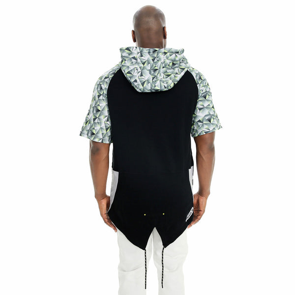 Abstract Opinion Fishtail-Hem Fleece Hoodie - Citi TrendsMens - 2