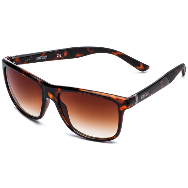 Kenneth Cole Reaction Women's Tortoise Square Sunglasses