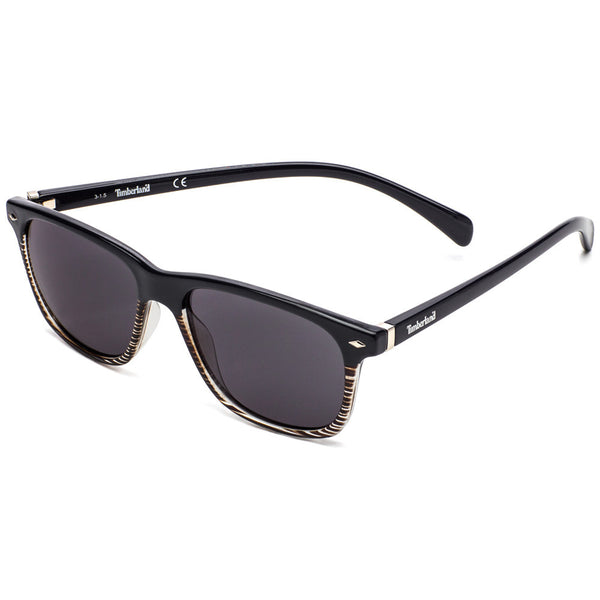 Timberland Women's Navy Square Sunglasses with Striped Half Rim Detail -  Citi Trends Accessories