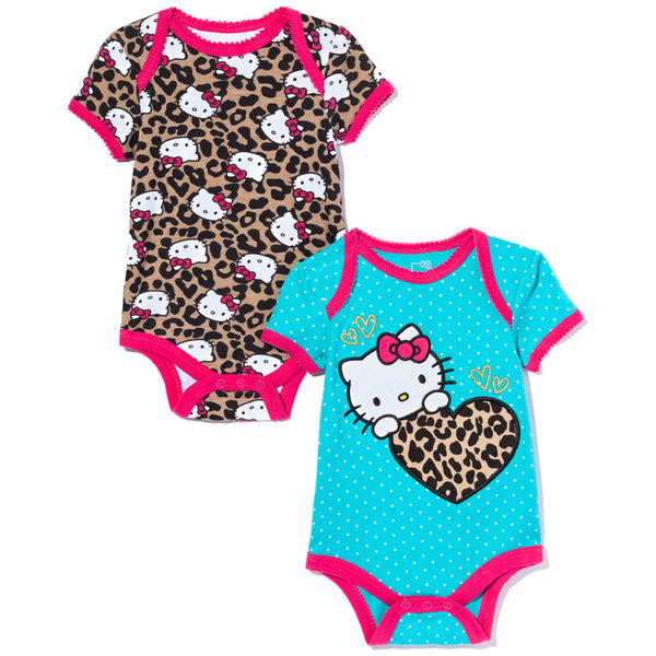 Purrfect Pair Girls 2-Piece Hello Kitty Creeper Set - Citi Trends Baby - Front