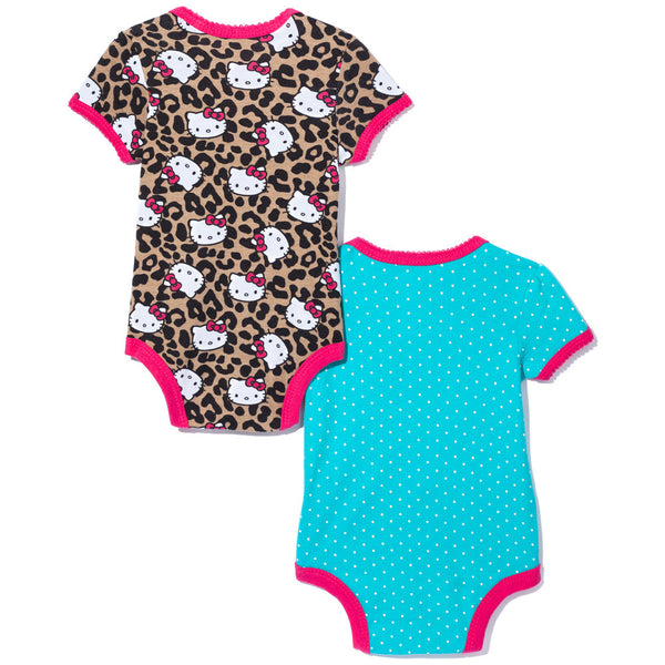 Purrfect Pair Girls 2-Piece Hello Kitty Creeper Set - Citi Trends Baby - Back