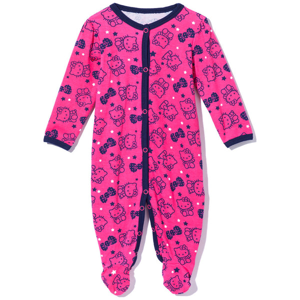 Sweet Dreams Girls Pink Hello Kitty Sleep And Play - Citi Trends Baby - Front