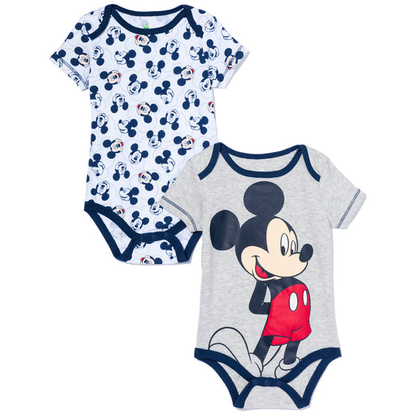 Mickey Mouse In The House Boys 2-Piece Creeper Set - Citi Trends Baby - Front