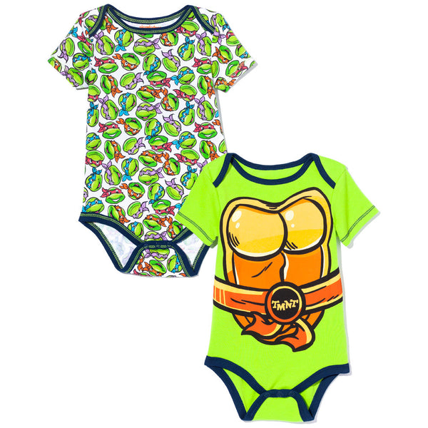 Cowabunga! Boys 2-Piece Teenage Mutant Ninja Turtles Creeper Set - Citi Trends Baby - Front