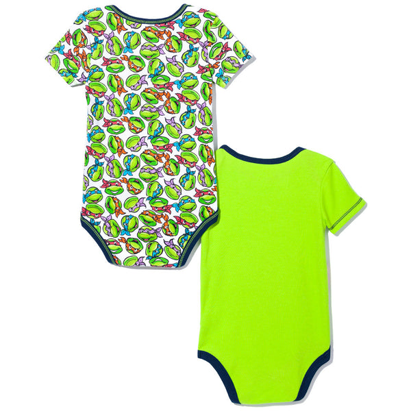 Cowabunga! Boys 2-Piece Teenage Mutant Ninja Turtles Creeper Set - Citi Trends Baby - Back
