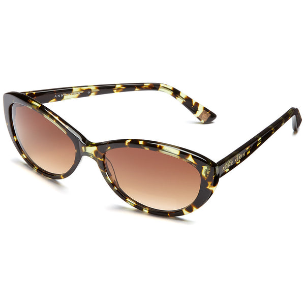 Anne Klein Women's Green Tortoise Cat-Eye Sunglasses - Citi Trends Accessories