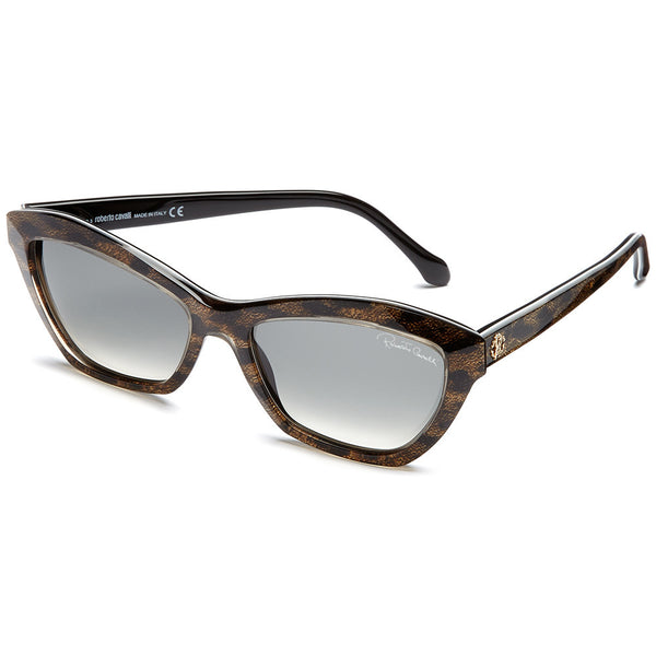 Roberto Cavalli Women's Snake Print Cat-Eye Sunglasses With Gradient Lens  - Citi Trends Accessories