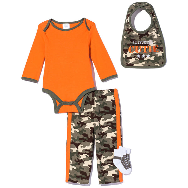 Major Cutie Boys 4-Piece Camo Pant Set - Citi Trends Baby - Front