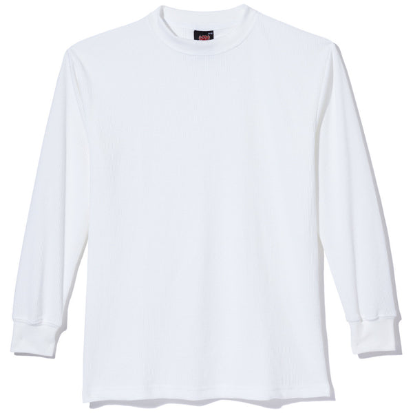Factor In The Basics Boys White Waffle-Knit Thermal Tee - Citi Trends