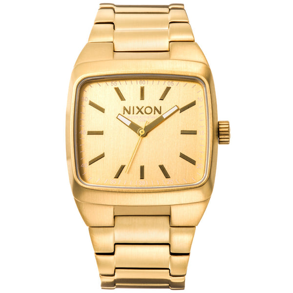 Nixon Men's Manual II Gold Stainless Steel Watch - Citi Trends Designer - Front