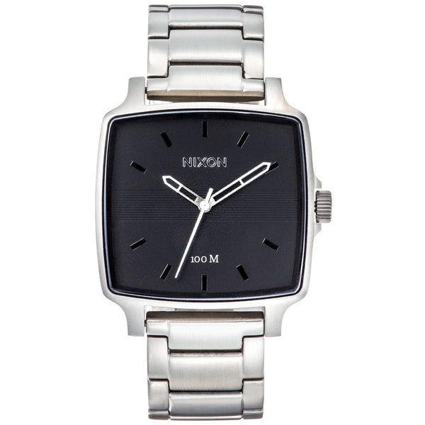 Nixon Men's Cruiser Silver Stainless Steel Watch - Citi Trends Designer - Front
