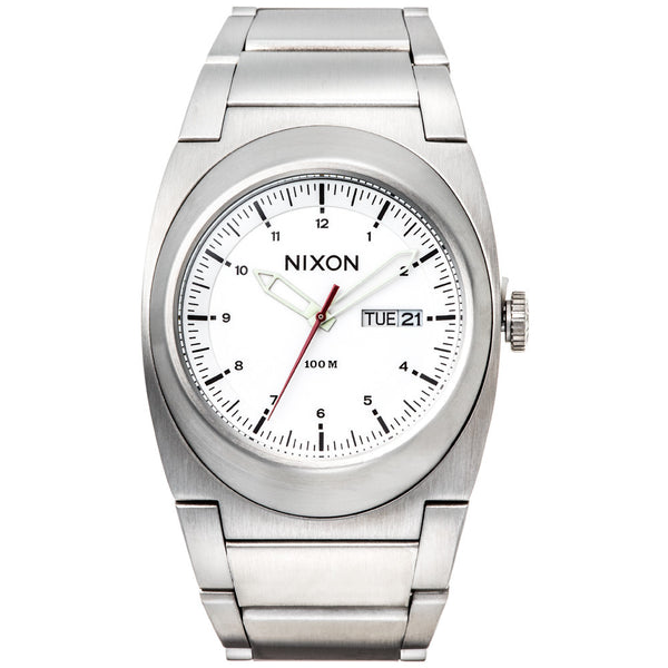 Nixon Men's The Don II Silver Stainless Steele Watch - Citi Trends Designer - Front