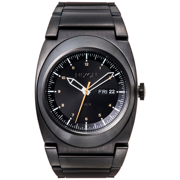 Nixon Men's The Don II Black Stainless Steele Watch