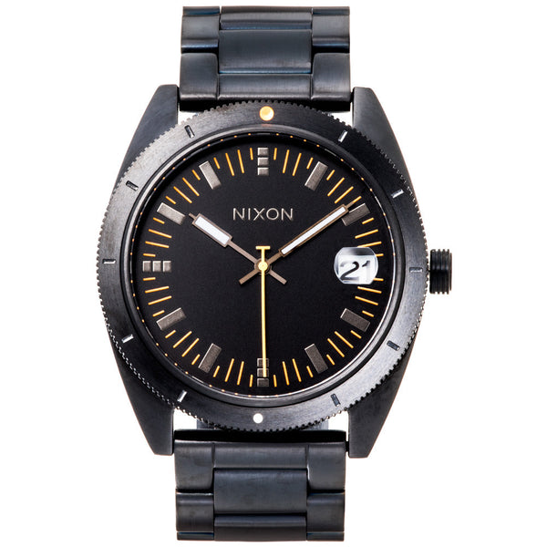 Nixon Men's Black Rover Stainless Steel II Watch - Citi Trends Designer - Front