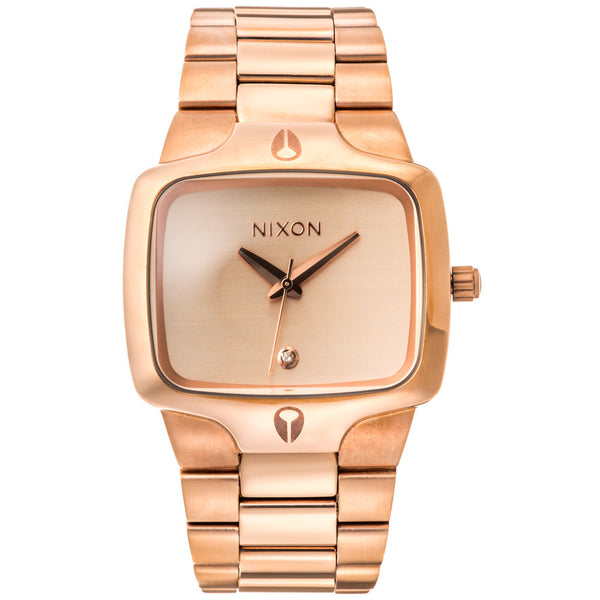 Nixon Men's Player Rose Gold Stainless Steel Watch - Citi Trends Designer - Front