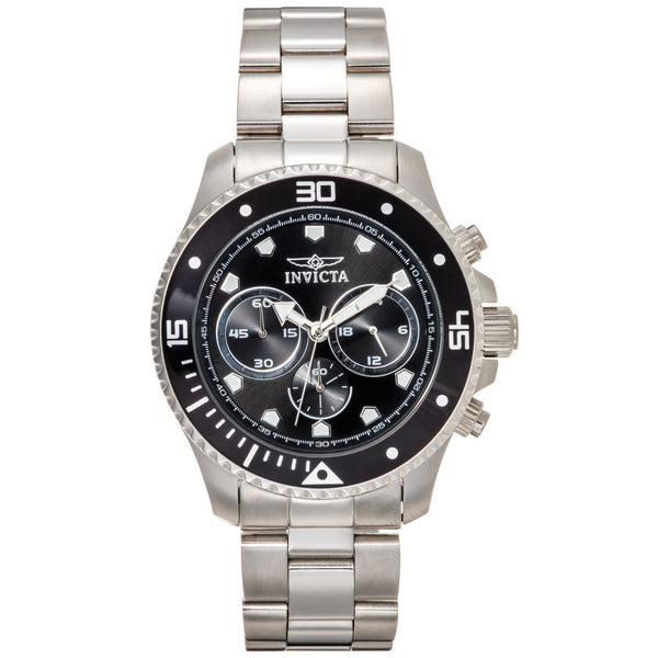 Invicta Men's Pro Diver Silver Stainless Steel Watch - Citi Trends Designer - Front