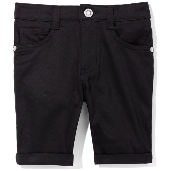 Go To Great Lengths Girls Black Bermuda Short - Cititrends Girls - Front