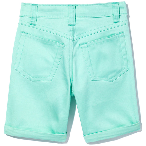 Go To Great Lengths Girls Mint Bermuda Short- Cititrends Girls - Back