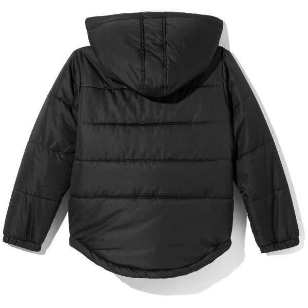 Don't Flurry About It Boys Black Zip-Up Puffer Jacket - Citi Trends Boys - Back