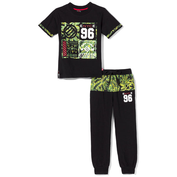 Jungle Fever Boys 2-Piece Jogger Set - Citi Trends Boys - Front