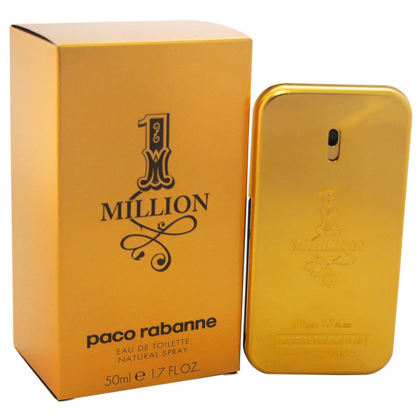 Paco Rabanne 1 Million Men's Eau de Toilette Spray, 1.7 oz - Citi Trends Fragrance