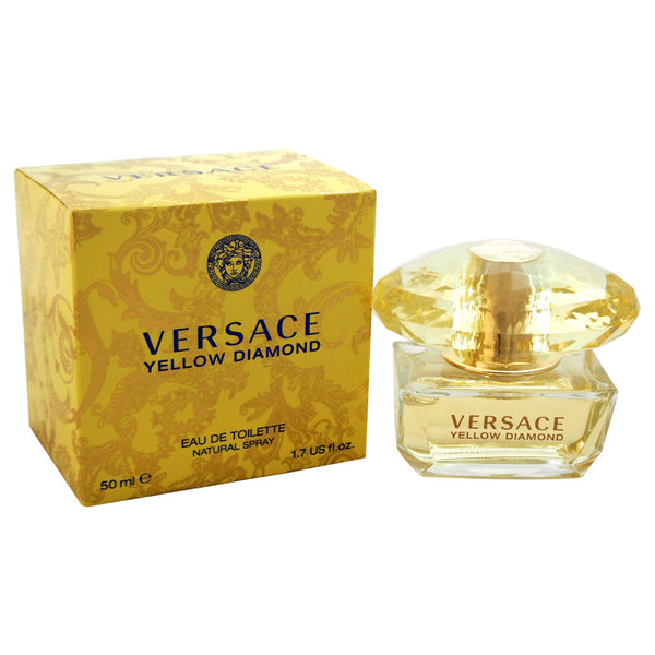 Versace Yellow Diamond Women's Eau De Toilette Spray, 1.7 oz - Citi Trends Designer