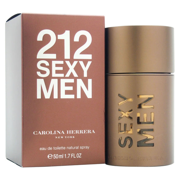 Carolina Herrera 212 Sexy Men's Eau de Toilette Spray, 1.7 oz - Citi Trends - Designer - Front