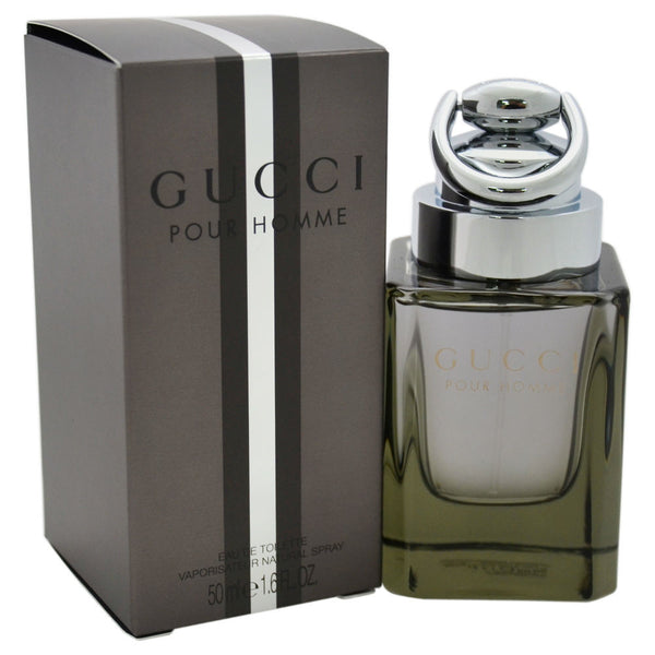 Gucci Pour Homme Men's Eau de Toilette Spray, 1.7 oz - Citi Trends - Designer - Front