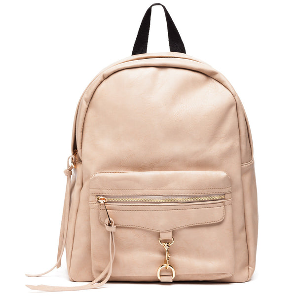 Style On The Move Beige Backpack