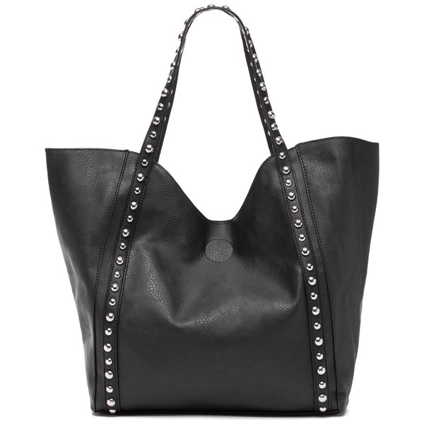 Stud-Y Buddy Black 2-Piece Tote Set - Citi Trends Accessories - Tote Front