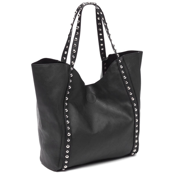 Stud-Y Buddy Black 2-Piece Tote Set - Citi Trends Accessories - Side