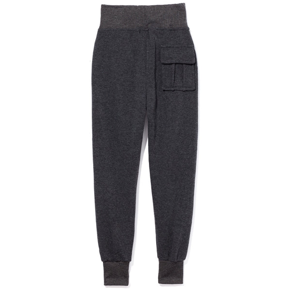 Charcoal Fleece Jogger Pant - Citi Trends Boys - Back