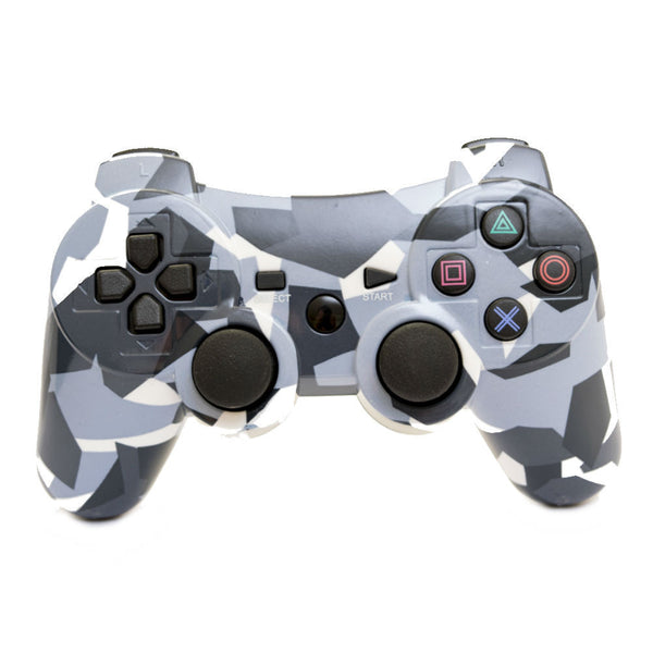 Print At Play Camouflage PS3 Bluetooth Controller Pro - Citi Trends Home - Front