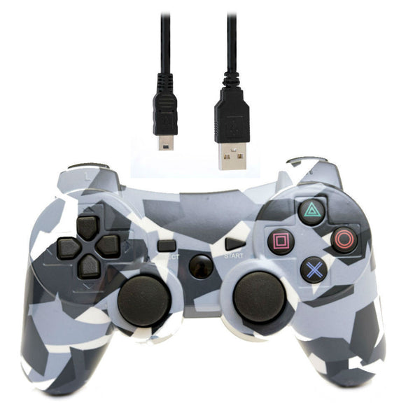 Print At Play Camouflage PS3 Bluetooth Controller Pro - Citi Trends Home - Top