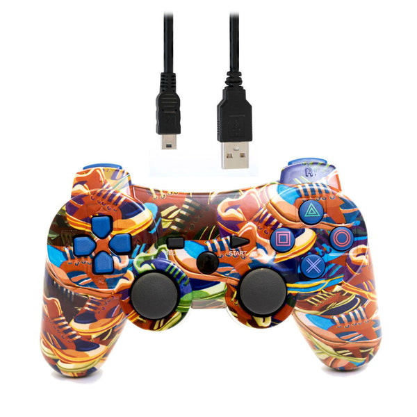 Print At Play Sneakers PS3 Bluetooth Controller Pro - Citi Trends Home - Top
