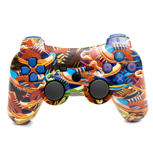 Print At Play Sneakers PS3 Bluetooth Controller Pro - Citi Trends Home - Front