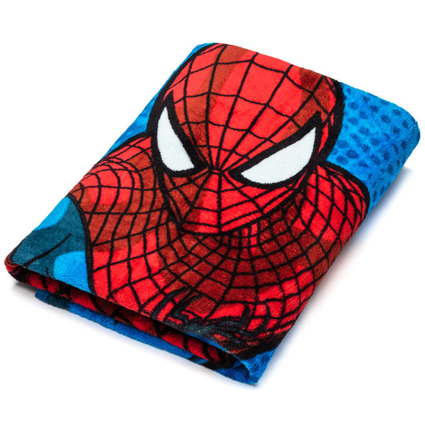 The Amazing Spider-Man Plush Throw Blanket - Citi Trends Home - Front