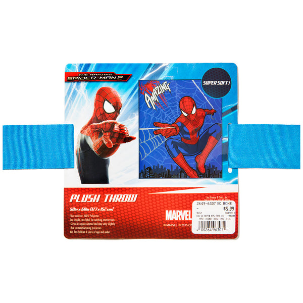 The Amazing Spider-Man Plush Throw Blanket - Citi Trends Home - Tag